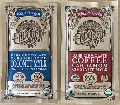 Endorfin chocolate bars